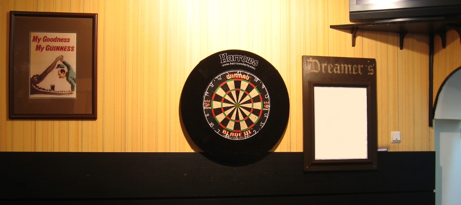darts board available